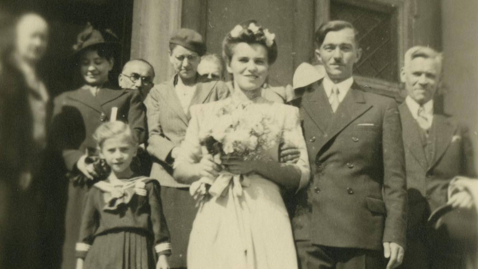 Zdjęcie dla kartki: Tragiczny koniec okupacyjnego ślubu