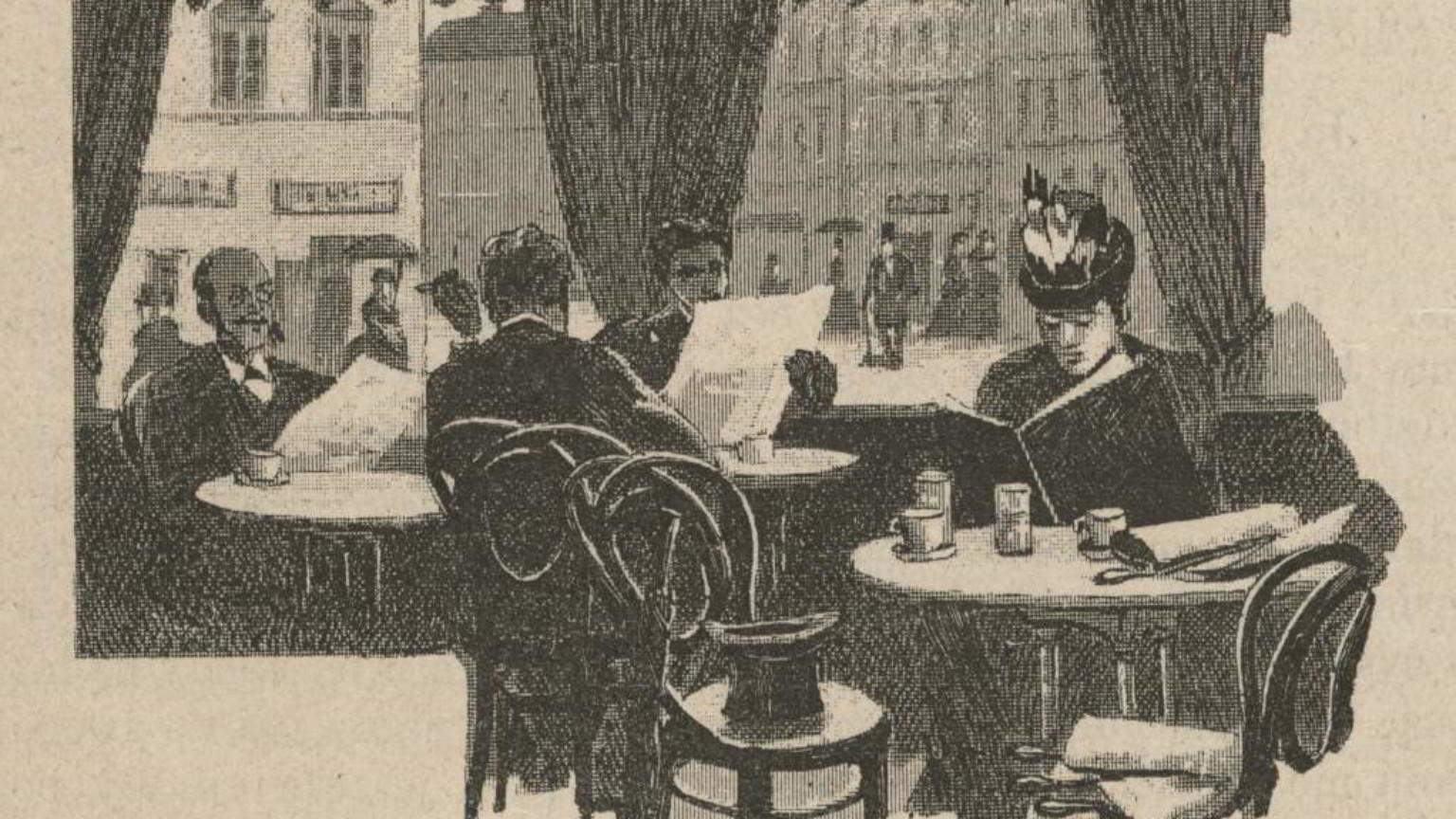 Zdjęcie dla kartki: Pierwsza kawiarnia Bliklego
