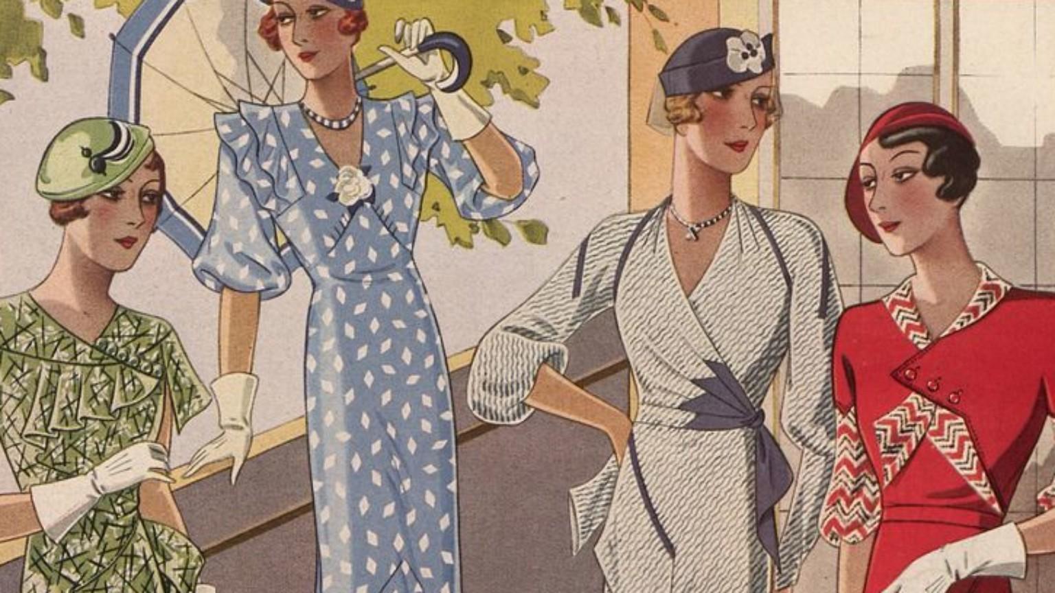 Zdjęcie dla kartki: Moda - lato 1933