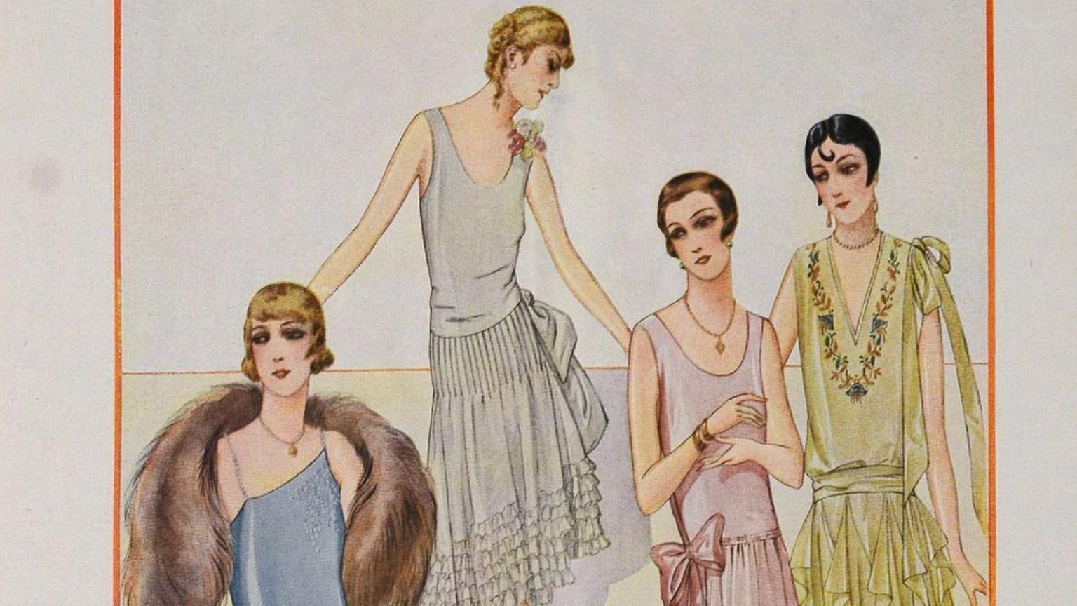 Zdjęcie dla kartki: Przygotowania do Sylwestra 1928