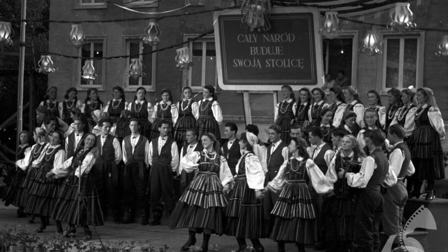 Zdjęcie dla kartki: Pierwszy koncert Mazowsza