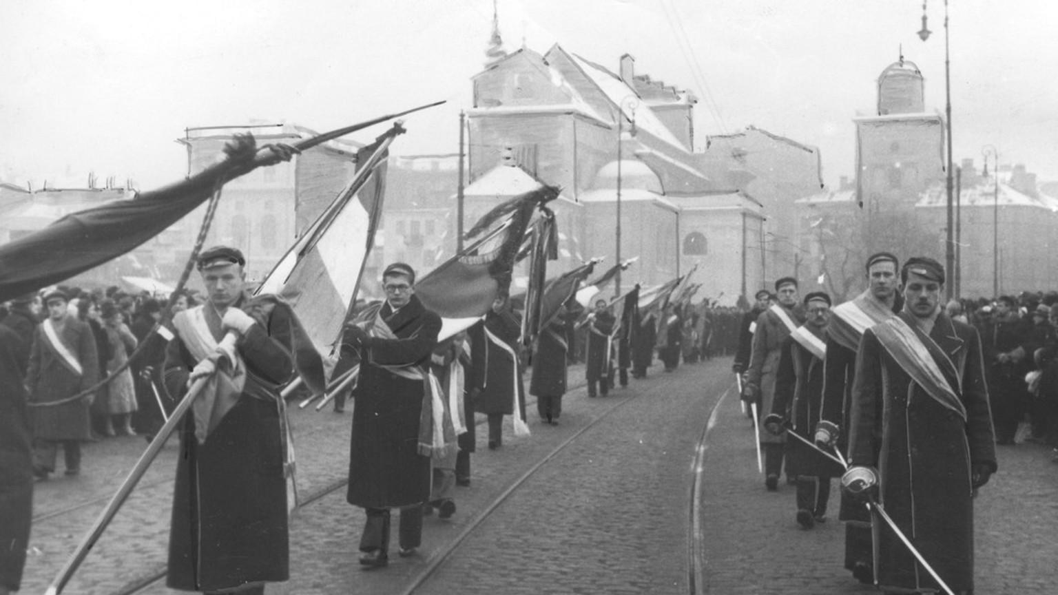 Zdjęcie dla kartki: Pogrzeb Romana Dmowskiego