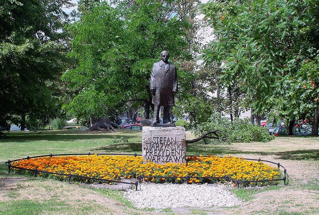 Zdjęcie dla kartki: Odsłonięcie pomnika Stefana Starzyńskiego