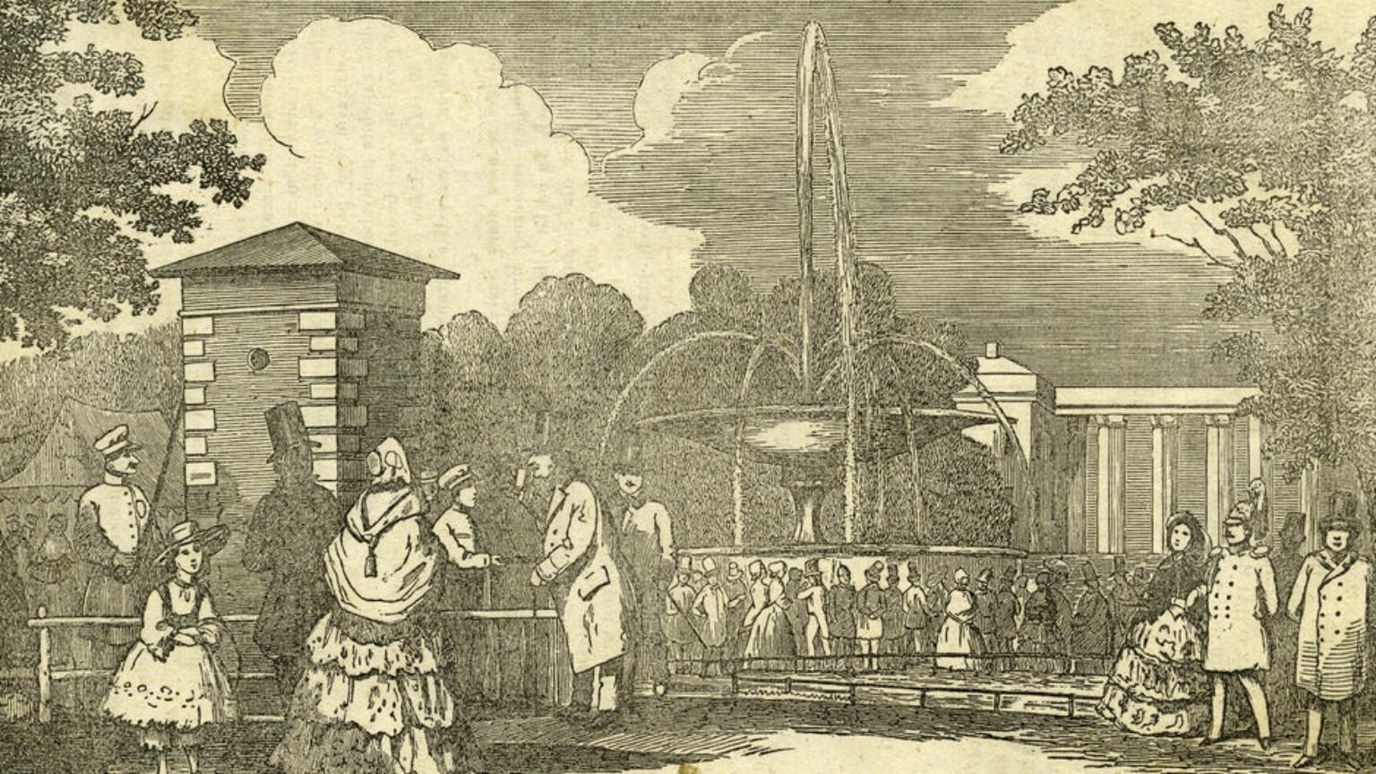 Zdjęcie dla kartki: Pierwszy warszawski wodociąg