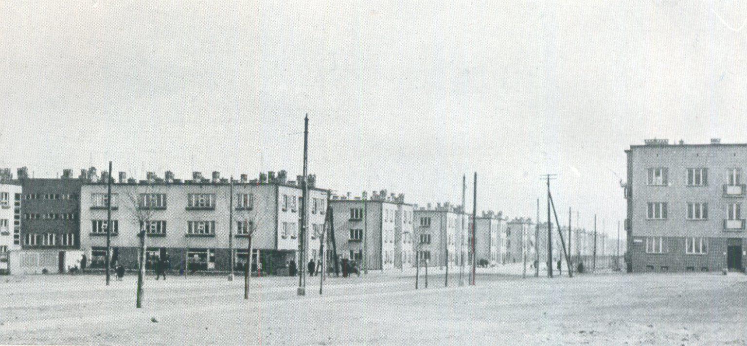 Zdjęcie dla kartki: Otwarcie osiedla Towarzystwa Osiedli Robotniczych przy ul. Obozowej