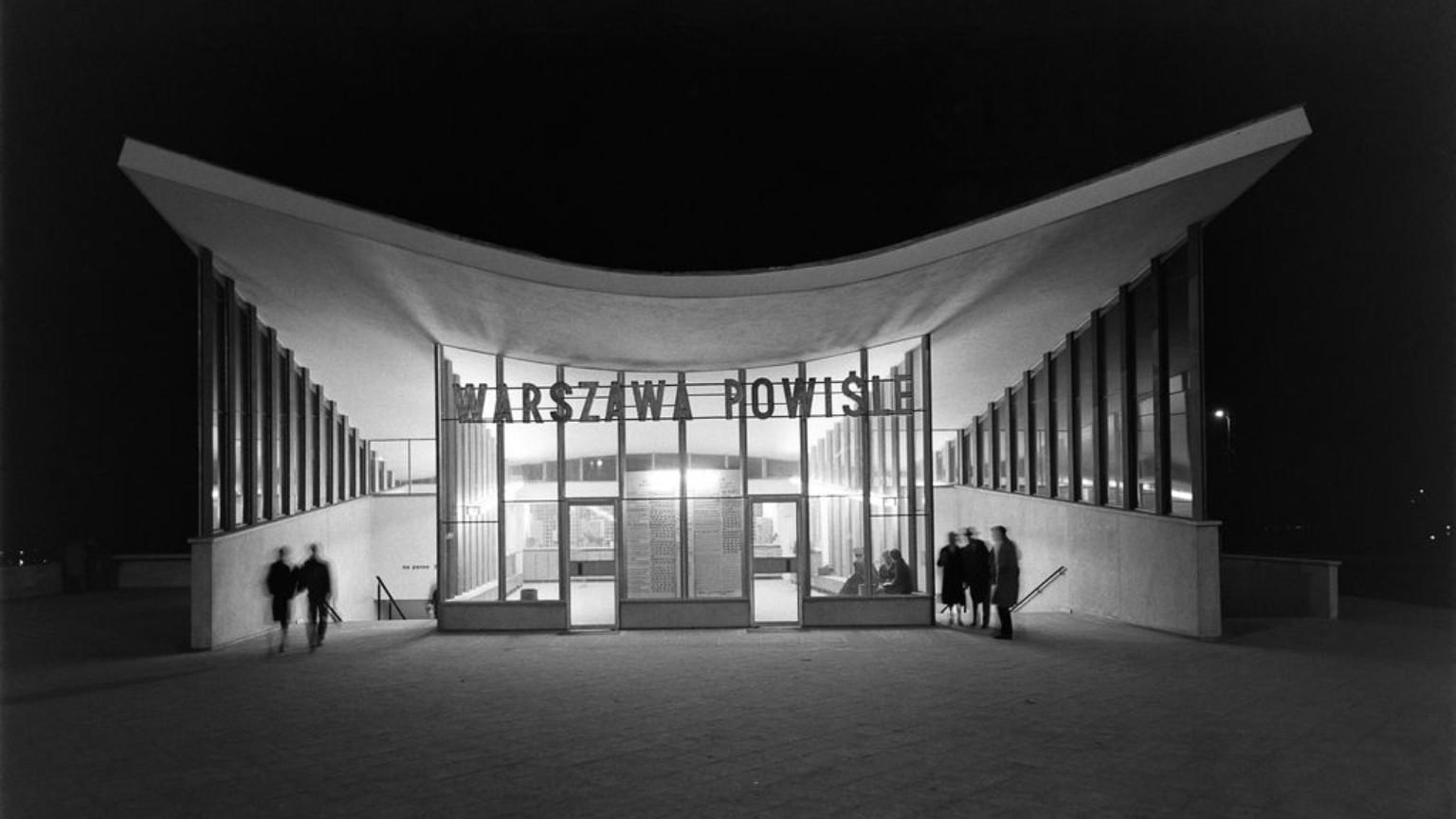 Zdjęcie dla kartki: Otwarcie stacji Warszawa Powiśle