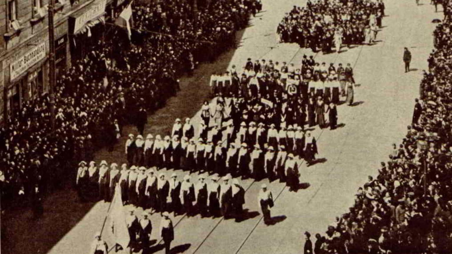 Zdjęcie dla kartki: Uroczyste obchody 125-tej rocznicy uchwalenia Konstytucji 3 Maja