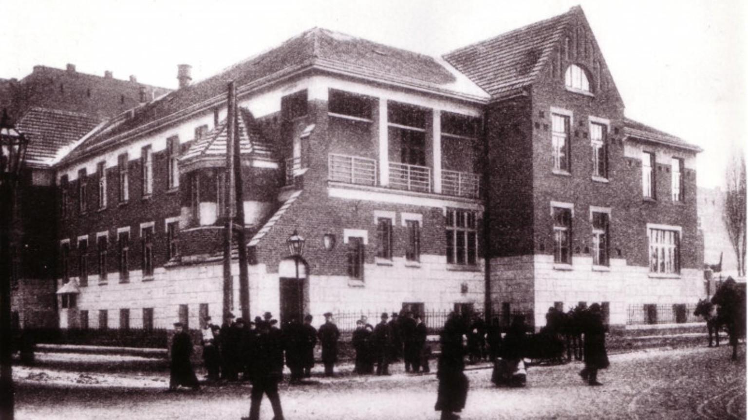 Zdjęcie dla kartki: Otwarcie szpitala św. Zofii