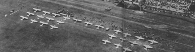 Zdjęcie do artykułu: Zawody samolotowe na Polu Mokotowskim