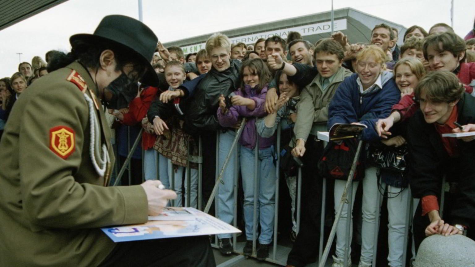 Zdjęcie dla kartki: Król popu daje koncert w Warszawie