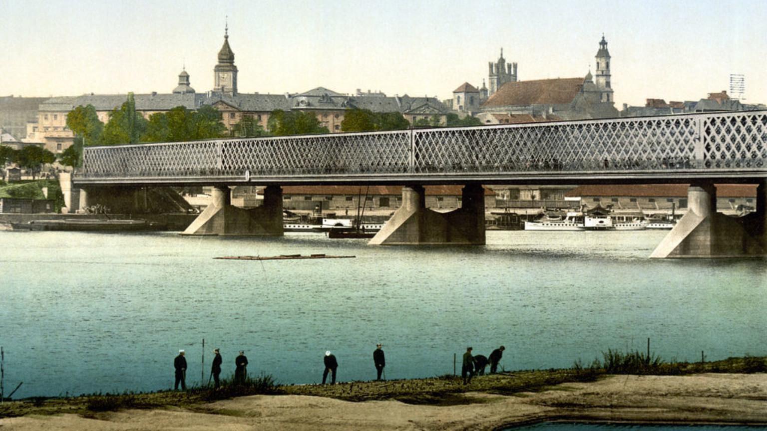 Zdjęcie dla kartki: Otwarcie mostu Aleksandryjskiego (Kierbedzia)