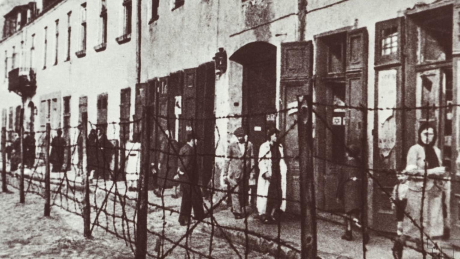 Zdjęcie dla kartki: Zamknięcie getta