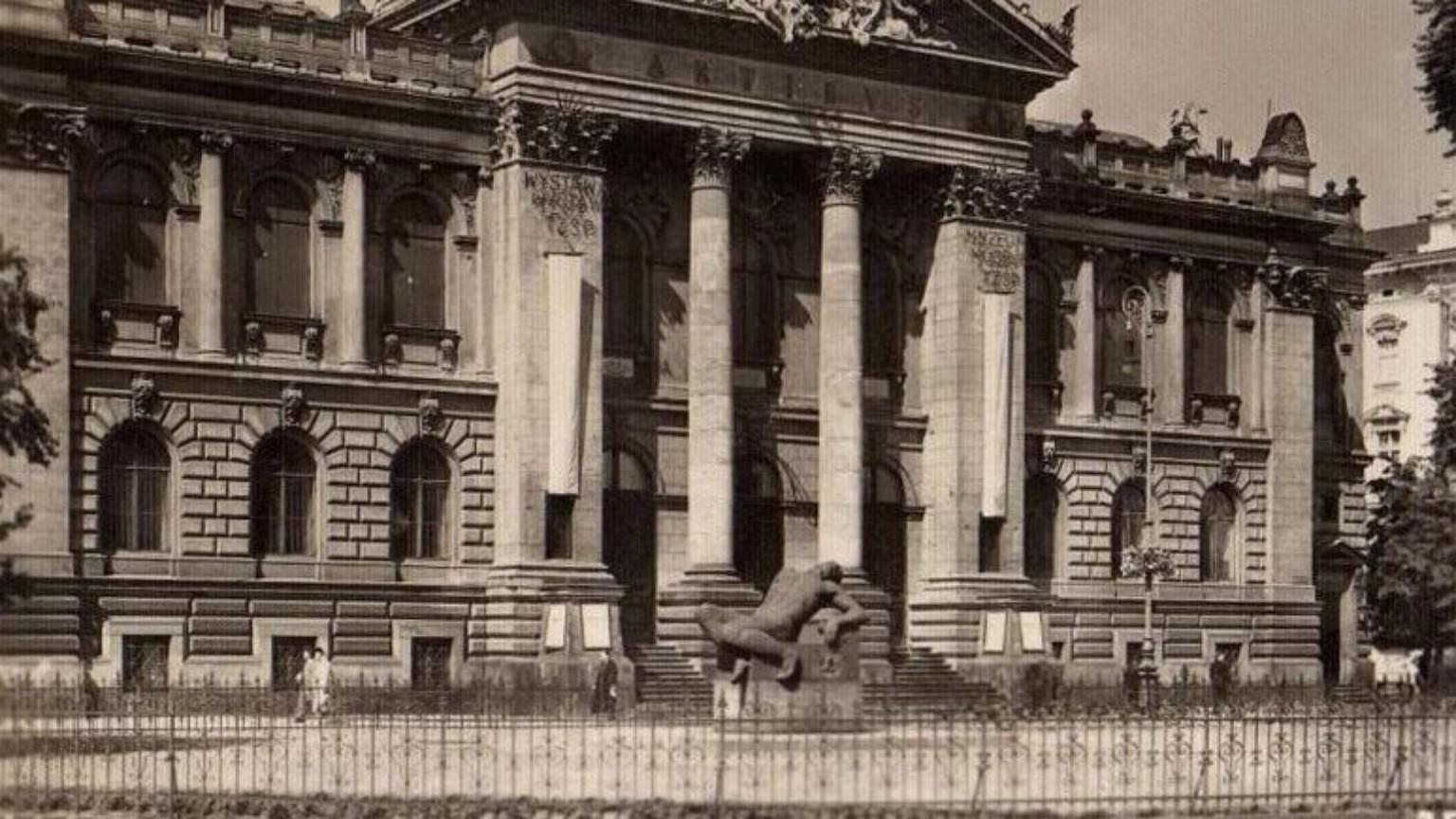 Zdjęcie dla kartki: Pomnik Peowiaka