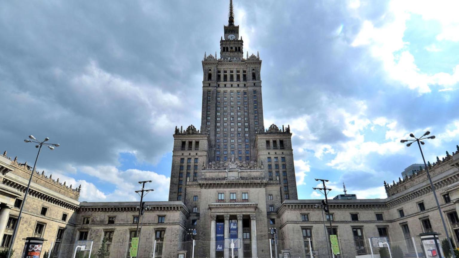 Zdjęcie dla kartki: Wpisanie Pałacu Kultury i Nauki do rejestru zabytków