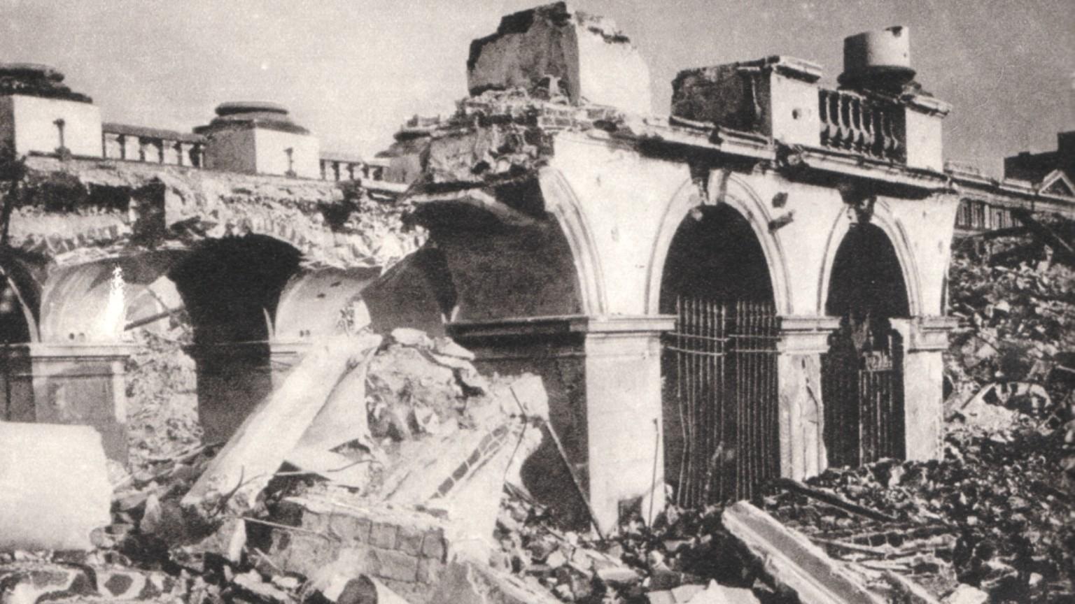 Zdjęcie dla kartki: Koniec Pałacu Saskiego