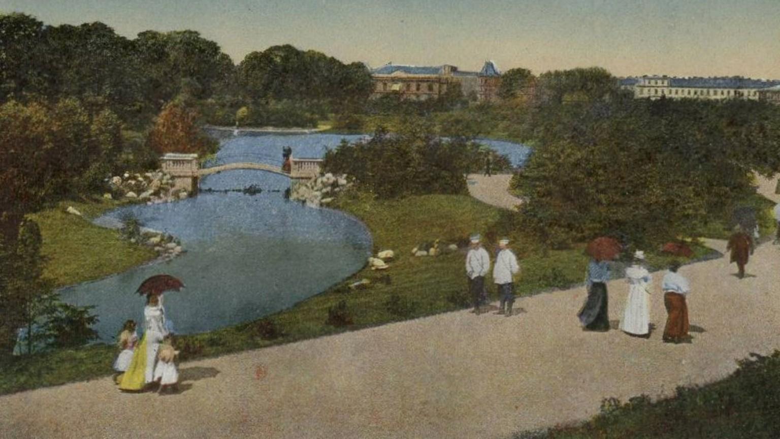 Zdjęcie dla kartki: Otwarcie parku Ujazdowskiego
