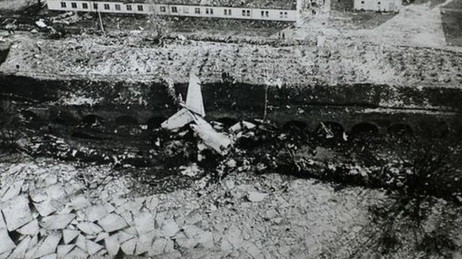 Zdjęcie dla kartki: Katastrofa samolotu Kopernik