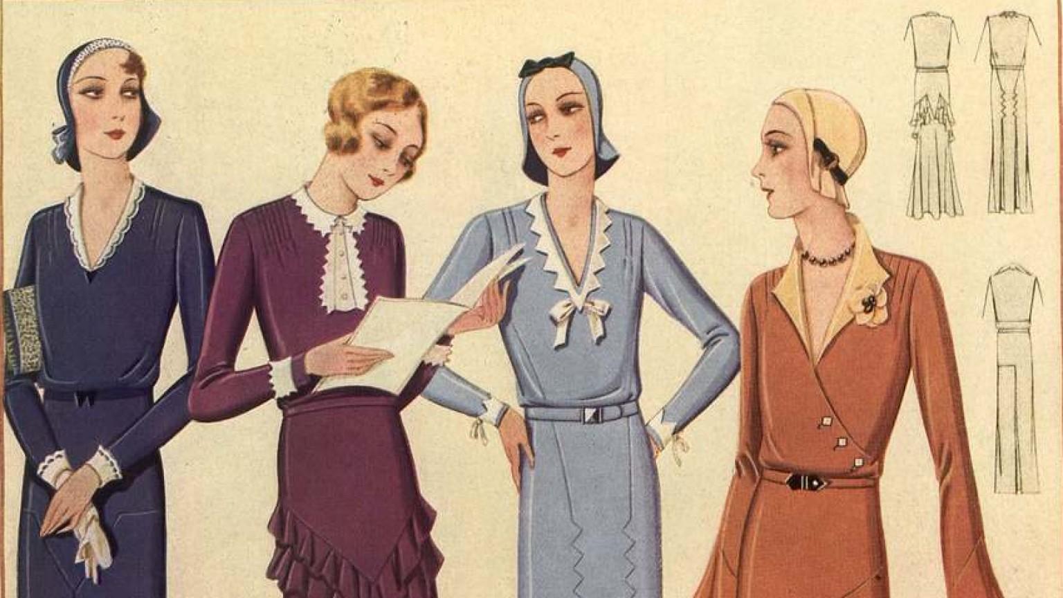 Zdjęcie dla kartki: Trendy - wiosna 1931