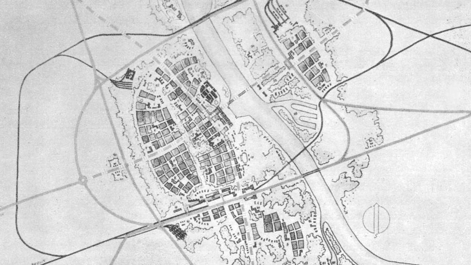 Zdjęcie dla kartki: Nazistowska przebudowa Warszawy