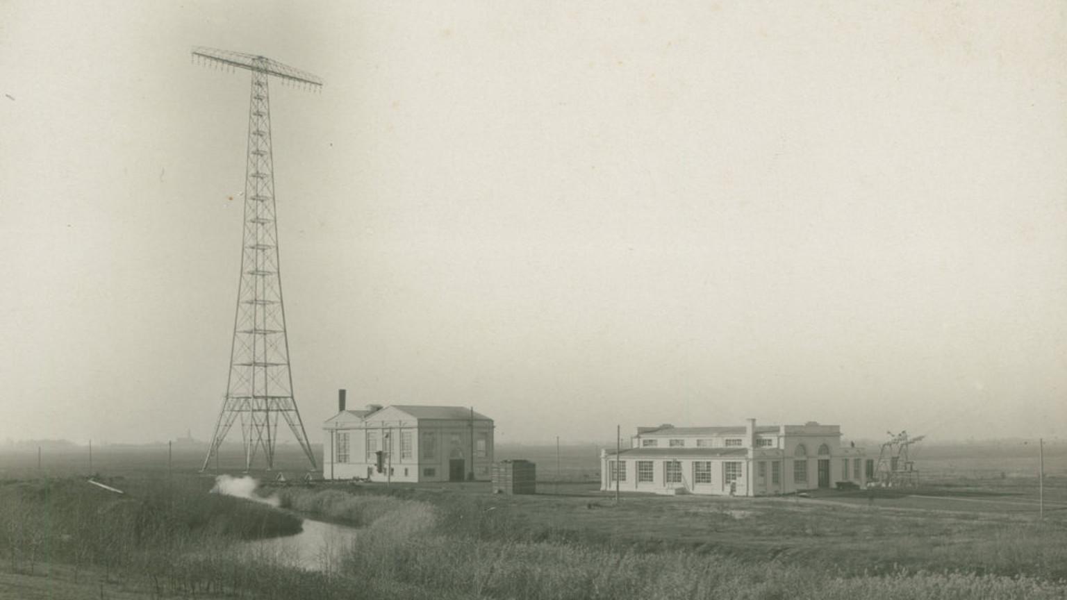Zdjęcie dla kartki: Uruchomienie Transatlantyckiej Stacji Radiotelegraficznej