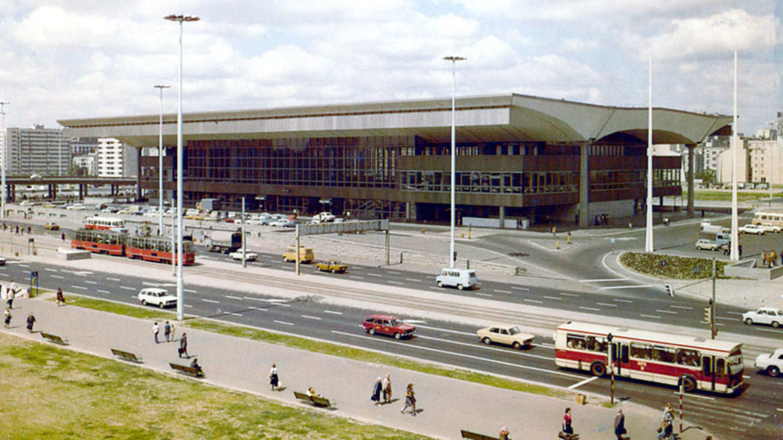 Zdjęcie dla kartki: Otwarcie Dworca Warszawa Centralna