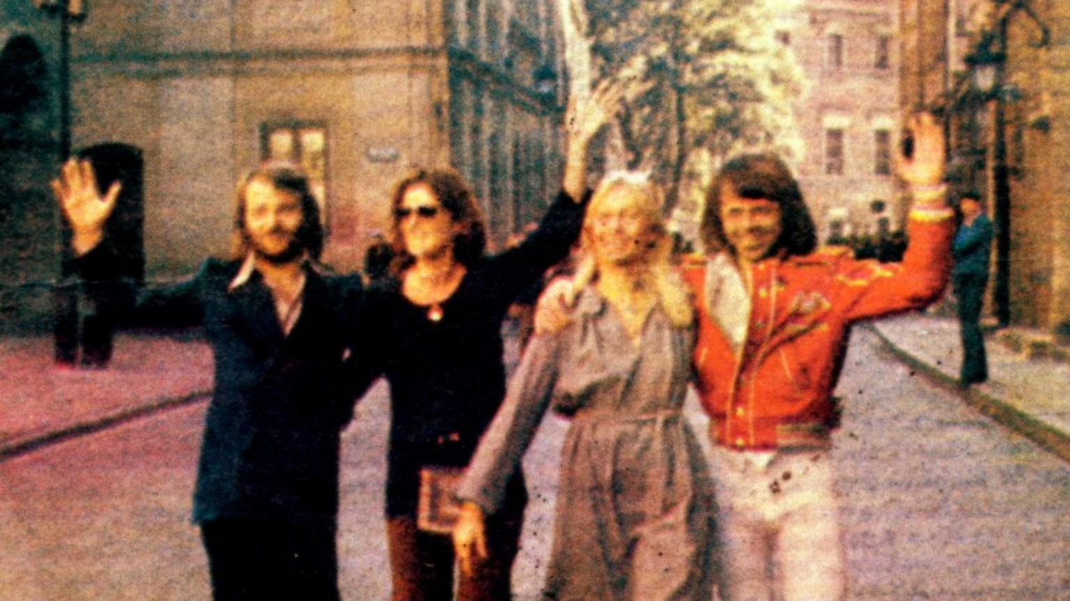 Zdjęcie dla kartki: ABBA odwiedza Warszawę