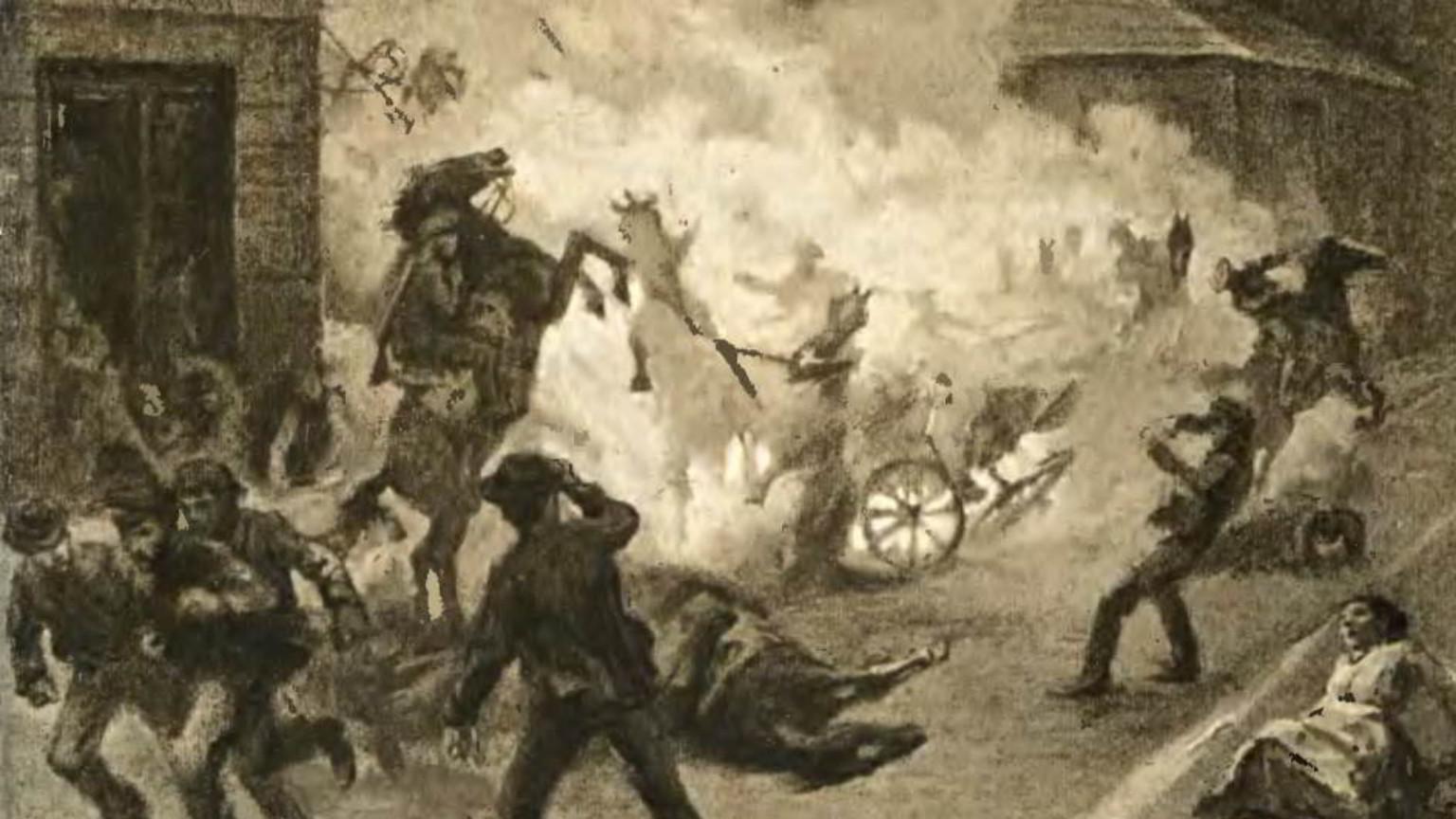 Zdjęcie dla kartki: Zamach na gubernatora Skałona