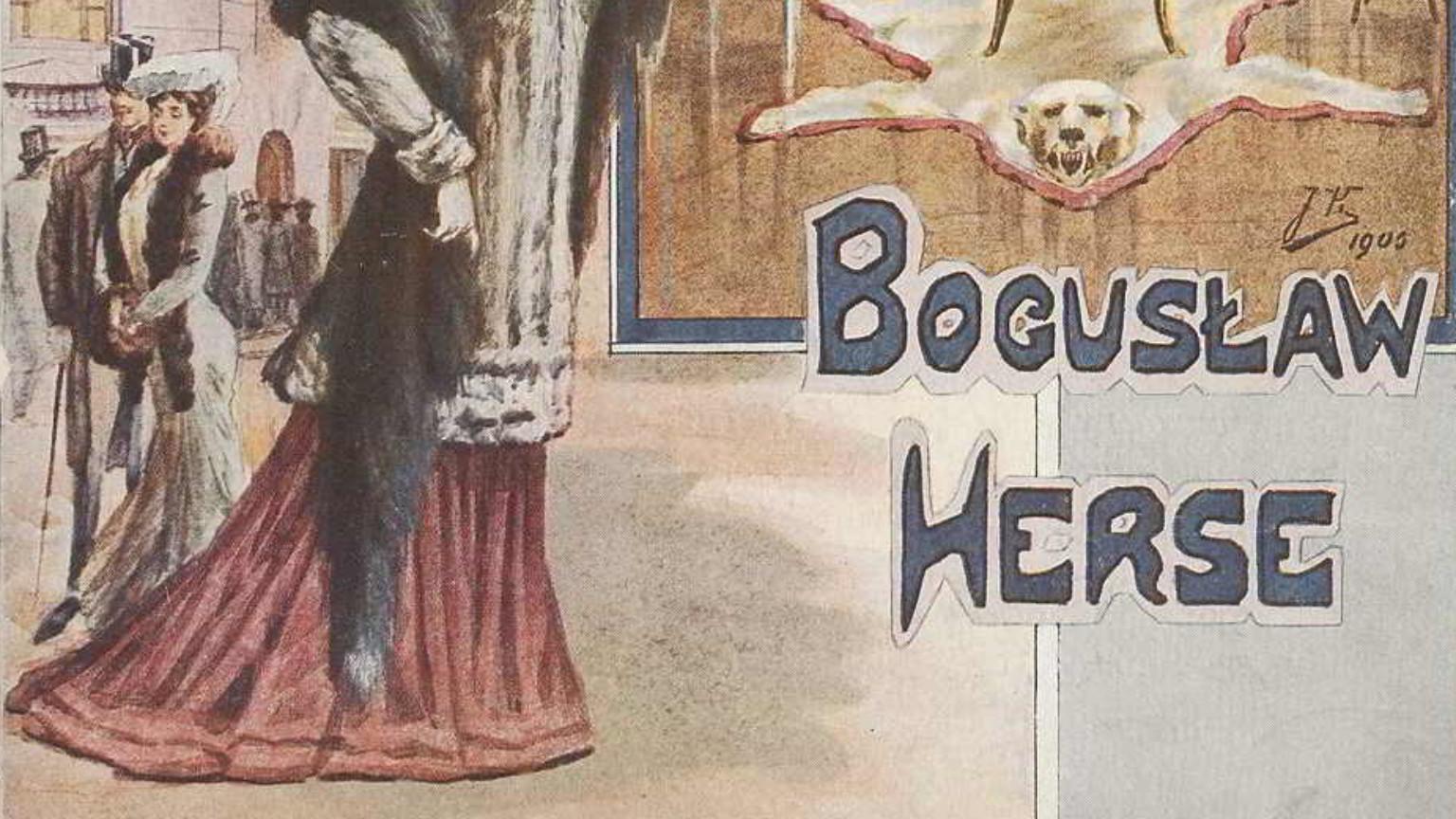 Zdjęcie dla kartki: Bogusław Herse - warszawskie haute couture