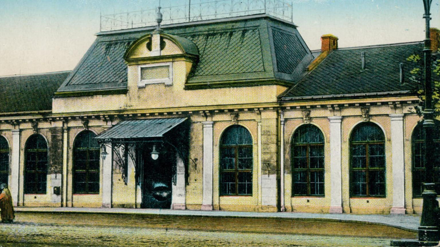 Zdjęcie dla kartki: Uruchomienie linii kolei warszawsko-kaliskiej