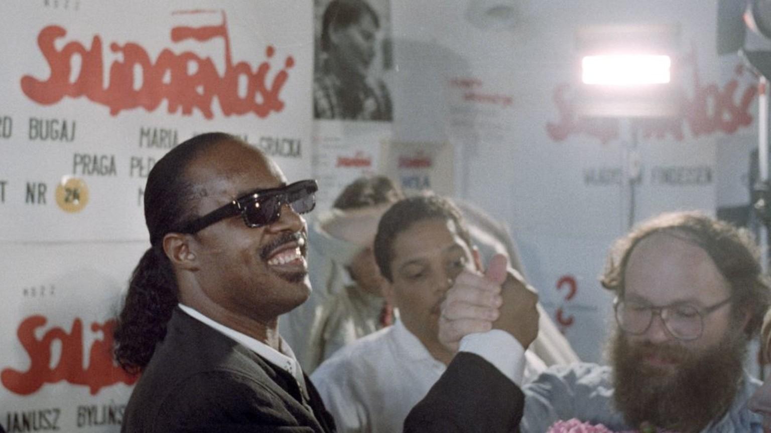 Zdjęcie dla kartki: Legendarny koncert Stevie Wondera