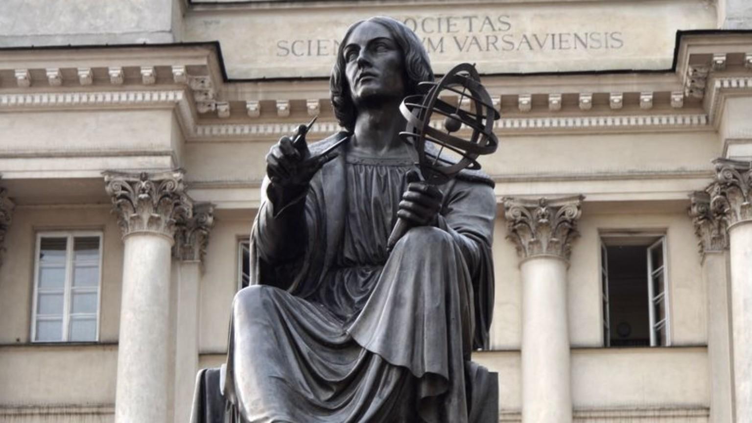 Zdjęcie dla kartki: Kradzież astrolabium z pomnika Kopernika