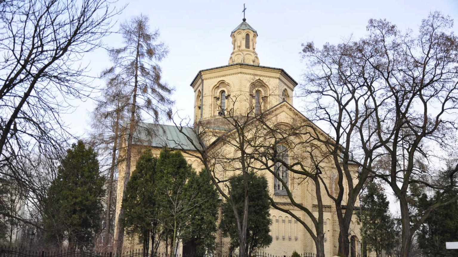 Zdjęcie dla kartki: Poświęcenie cerkwi bł. Martyniana