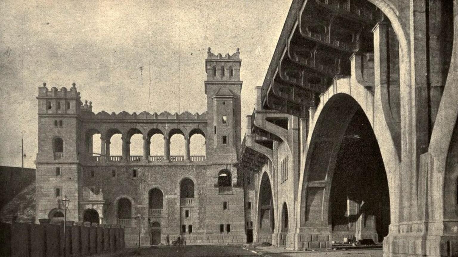 Zdjęcie dla kartki: Oficjalne otwarcie mostu Mikołajewskiego (obecnie ks. J. Poniatowskiego)