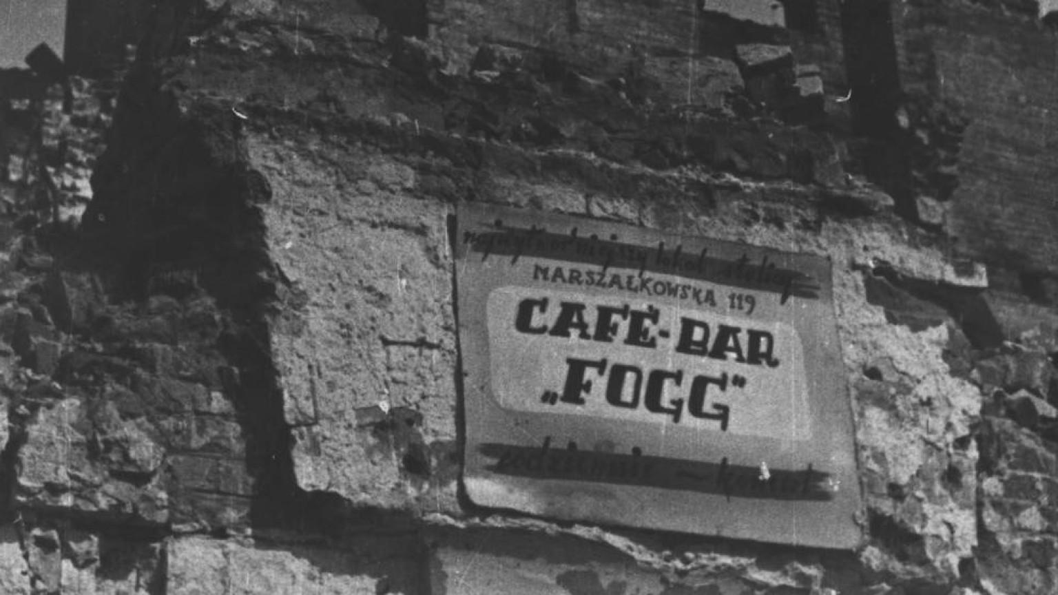 Zdjęcie dla kartki: Powroty 1945: Cafe Fogg
