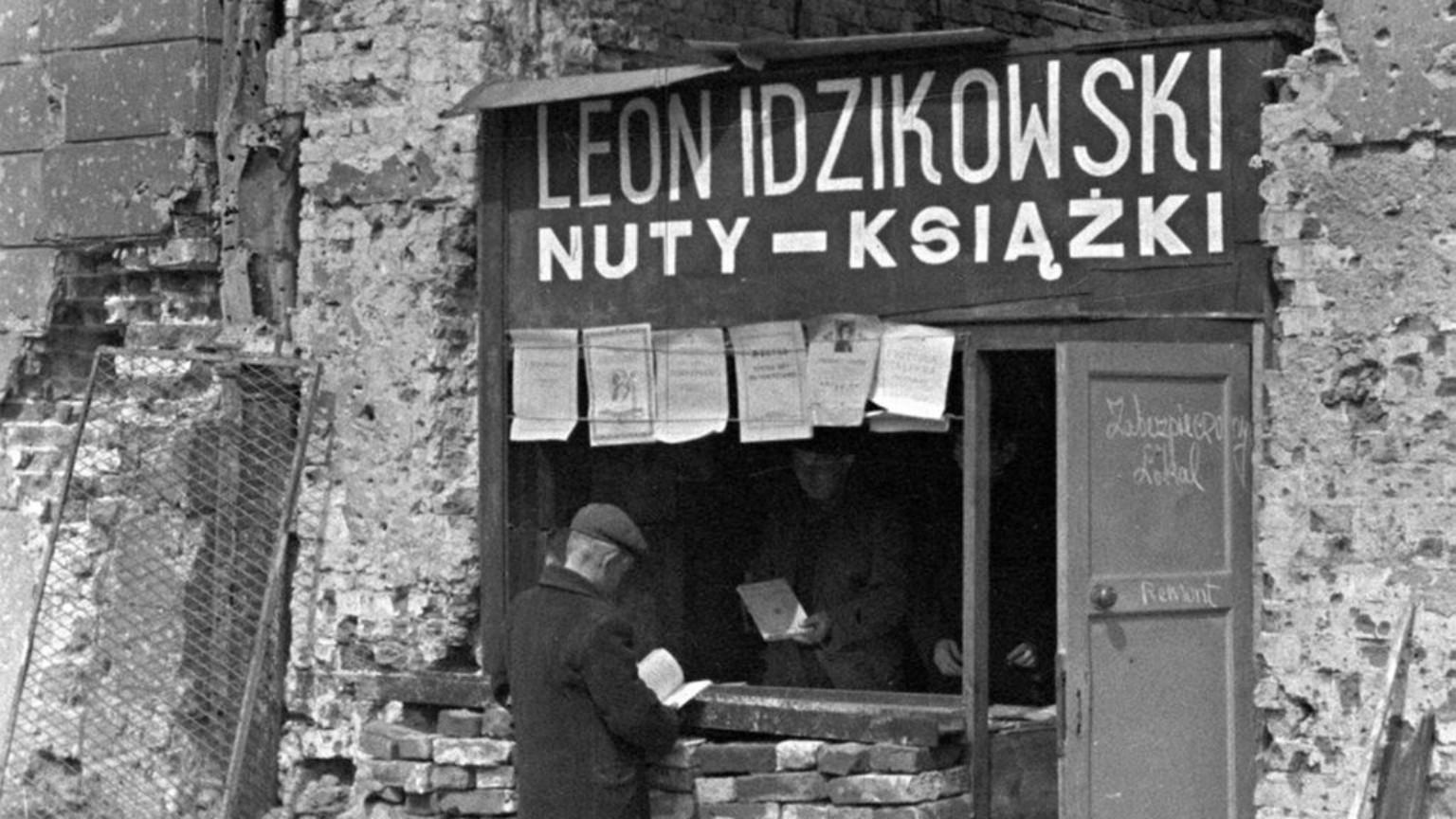 Zdjęcie dla kartki: Warszawa po wojnie