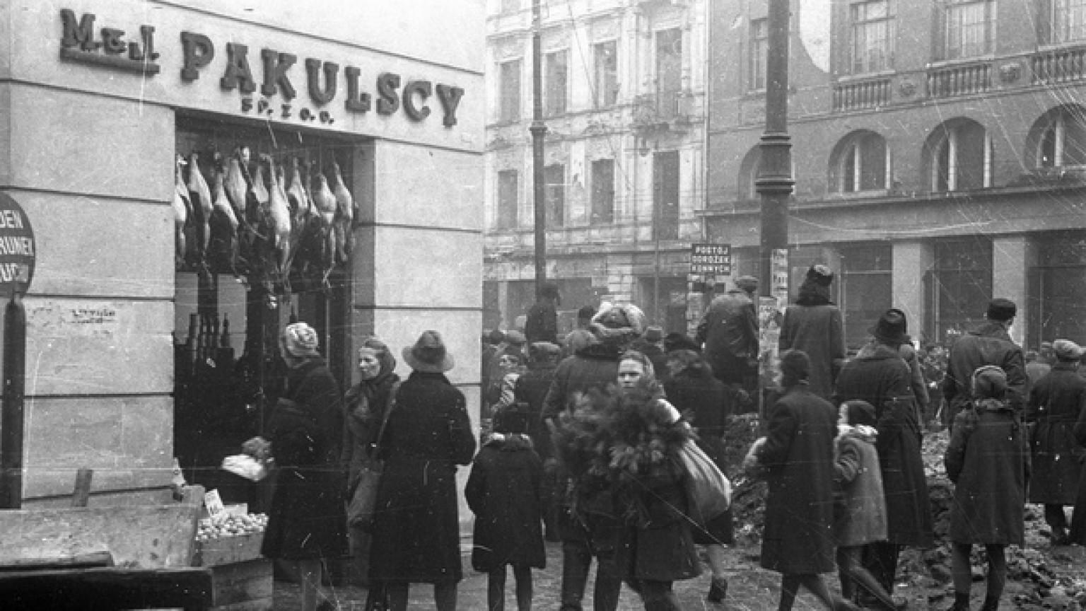Zdjęcie dla kartki: Warszawa po wojnie: handel