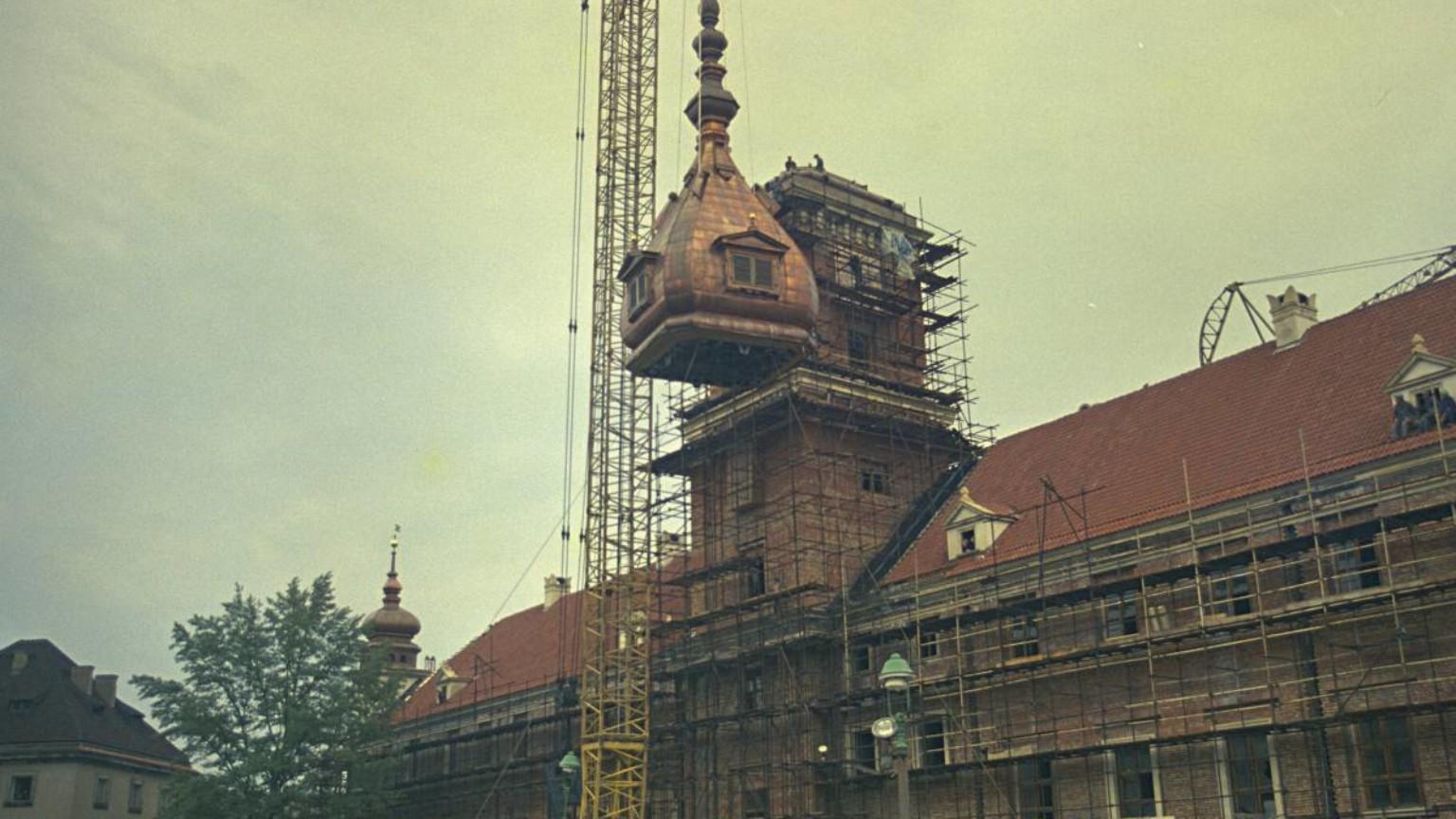 Zdjęcie dla kartki: Zamek Królewski (od)zyskuje wieżę