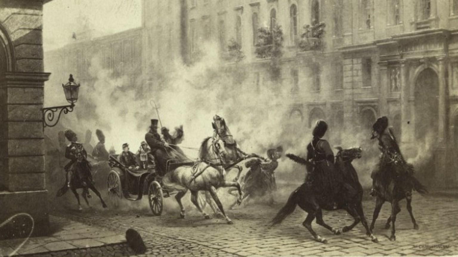 Zdjęcie dla kartki: Zamach na Fiodora Berga
