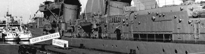 Zdjęcie do artykułu: Podniesienie bandery na niszczycielu ORP Warszawa