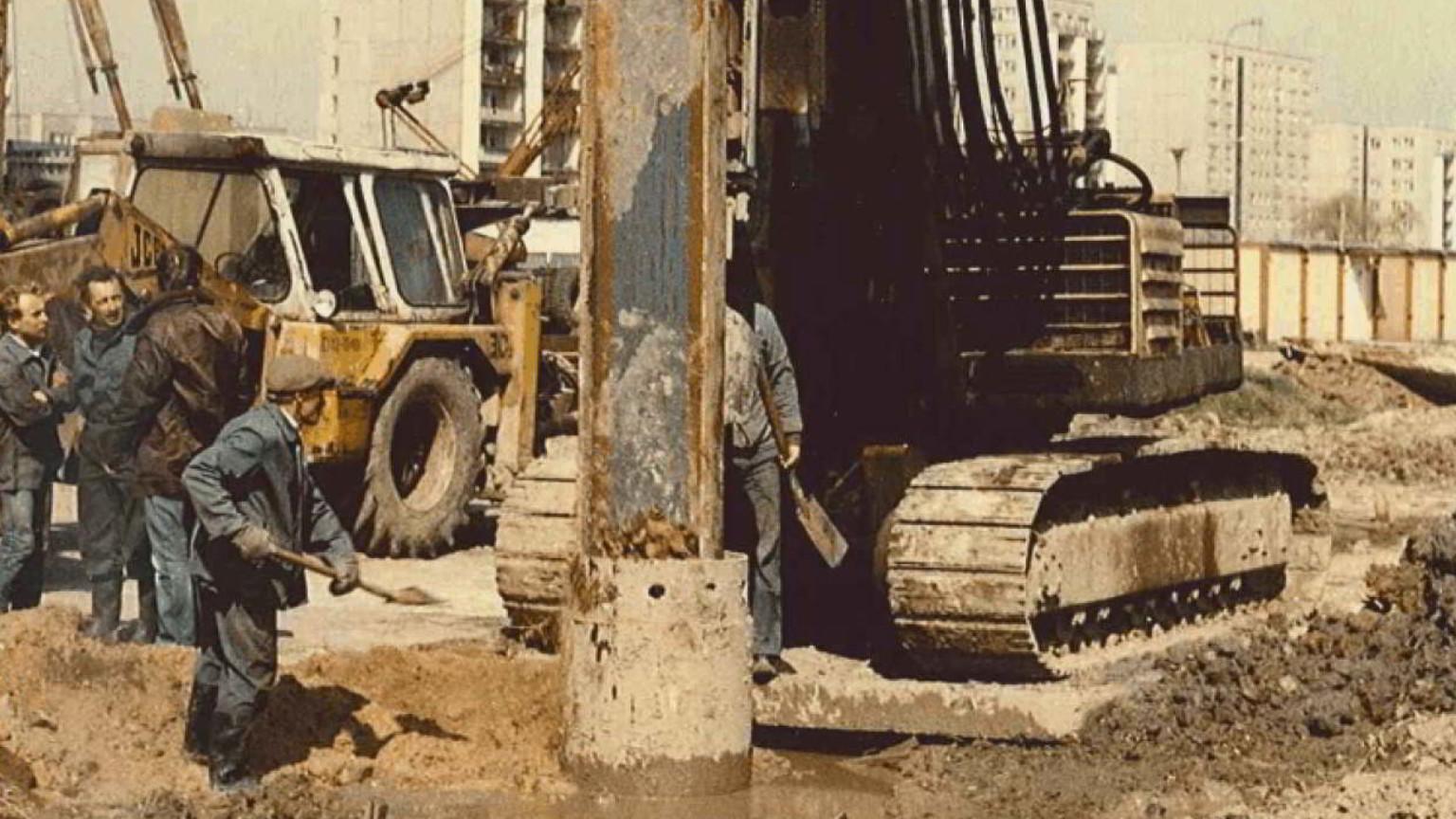 Zdjęcie dla kartki: (Skuteczne) rozpoczęcie budowy warszawskiego metra