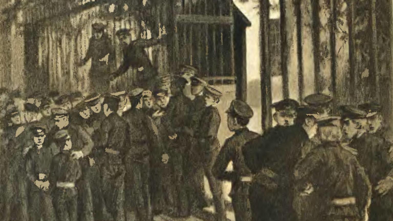 Zdjęcie dla kartki: Strajk szkolny w Warszawie (1905)