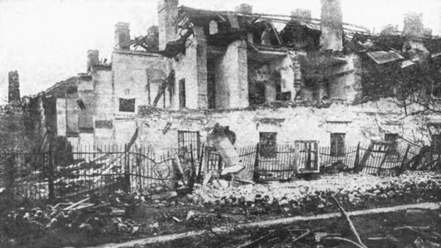 Zdjęcie dla kartki: Wybuch w Cytadeli