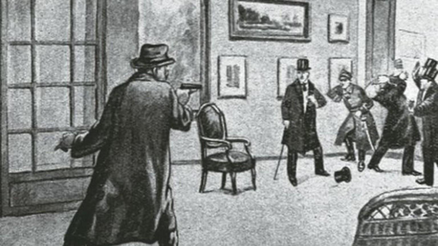 Zdjęcie dla kartki: Zabójstwo Narutowicza